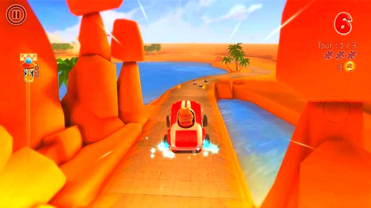 Screenshot from Garfield Kart (3/10)