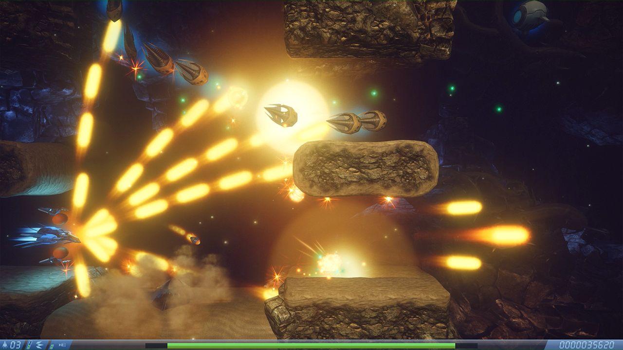 Screenshot from Rigid Force Alpha (1/7)