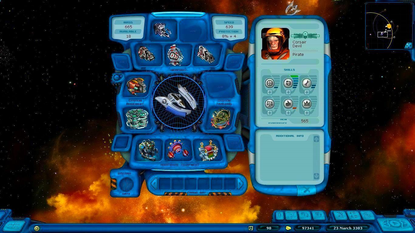 Screenshot from Space Rangers HD: A War Apart (2/6)