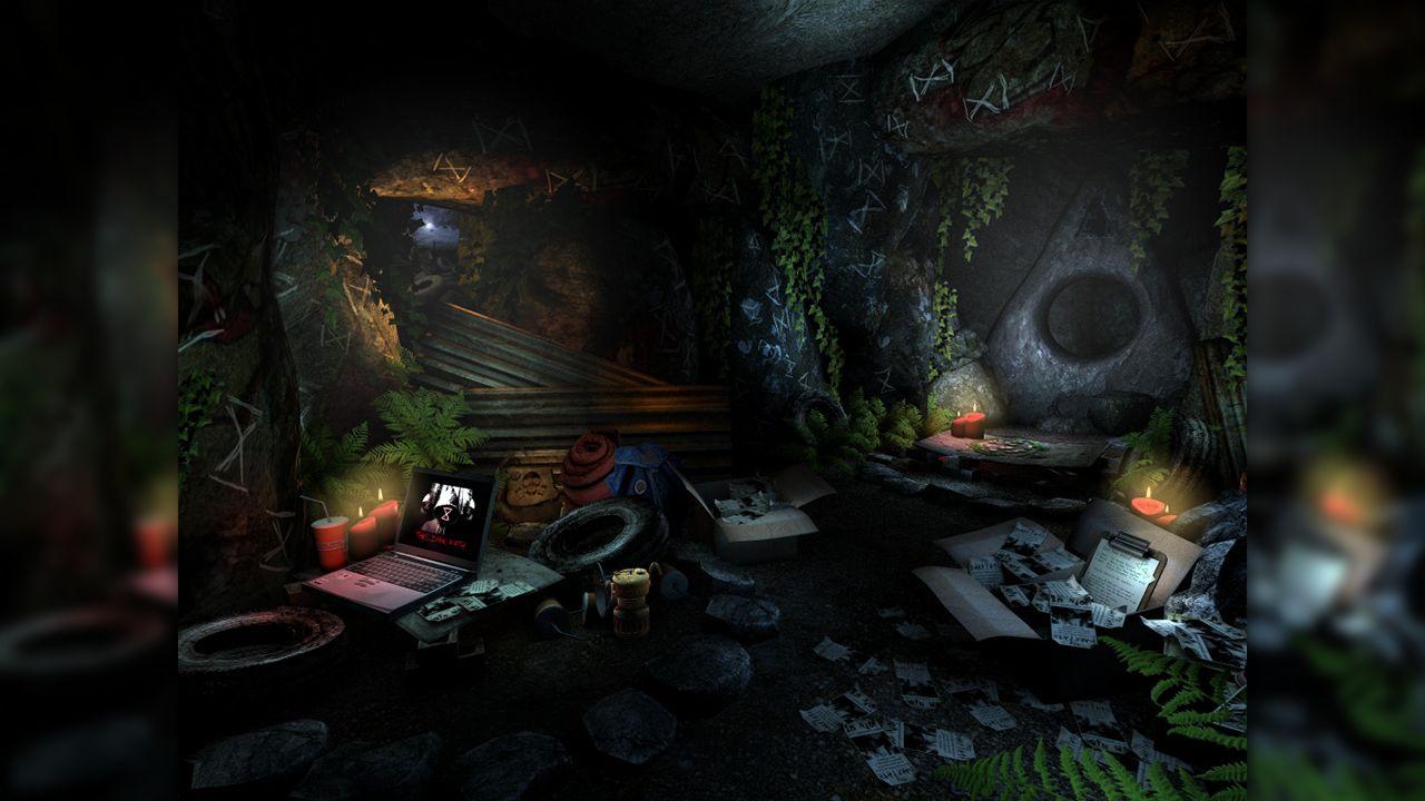 Screenshot from Barrow Hill: The Dark Path (4/7)