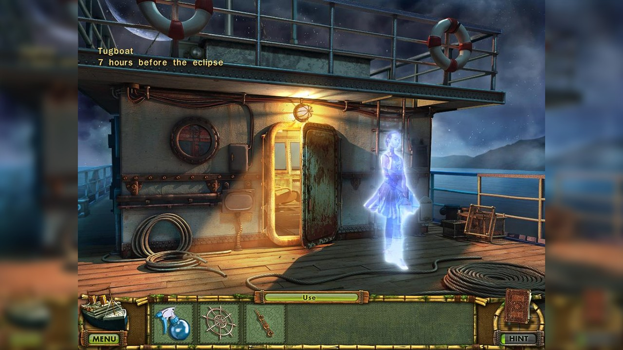Screenshot from The Treasures of Mystery Island 3: The Ghost Ship (4/5)
