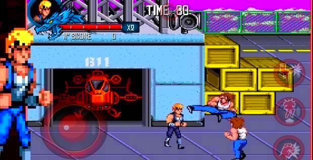 Screenshot from Double Dragon Trilogy (3/4)