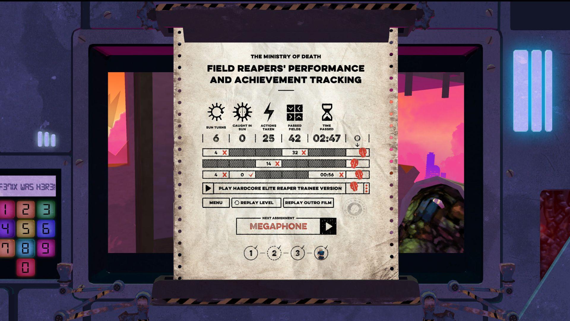 Screenshot from Felix the Reaper (10/10)