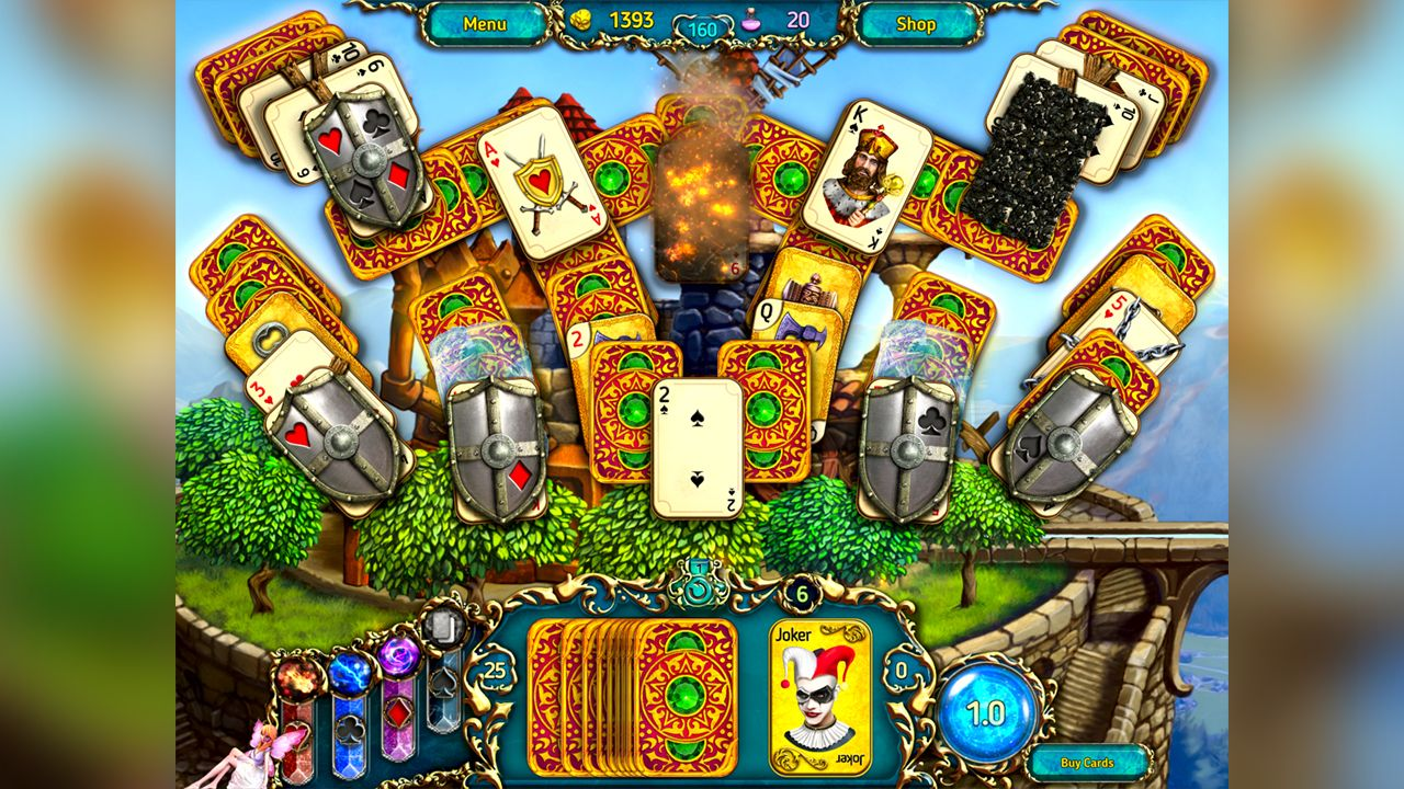 Screenshot from Dreamland Solitaire: Dragon's Fury (6/8)