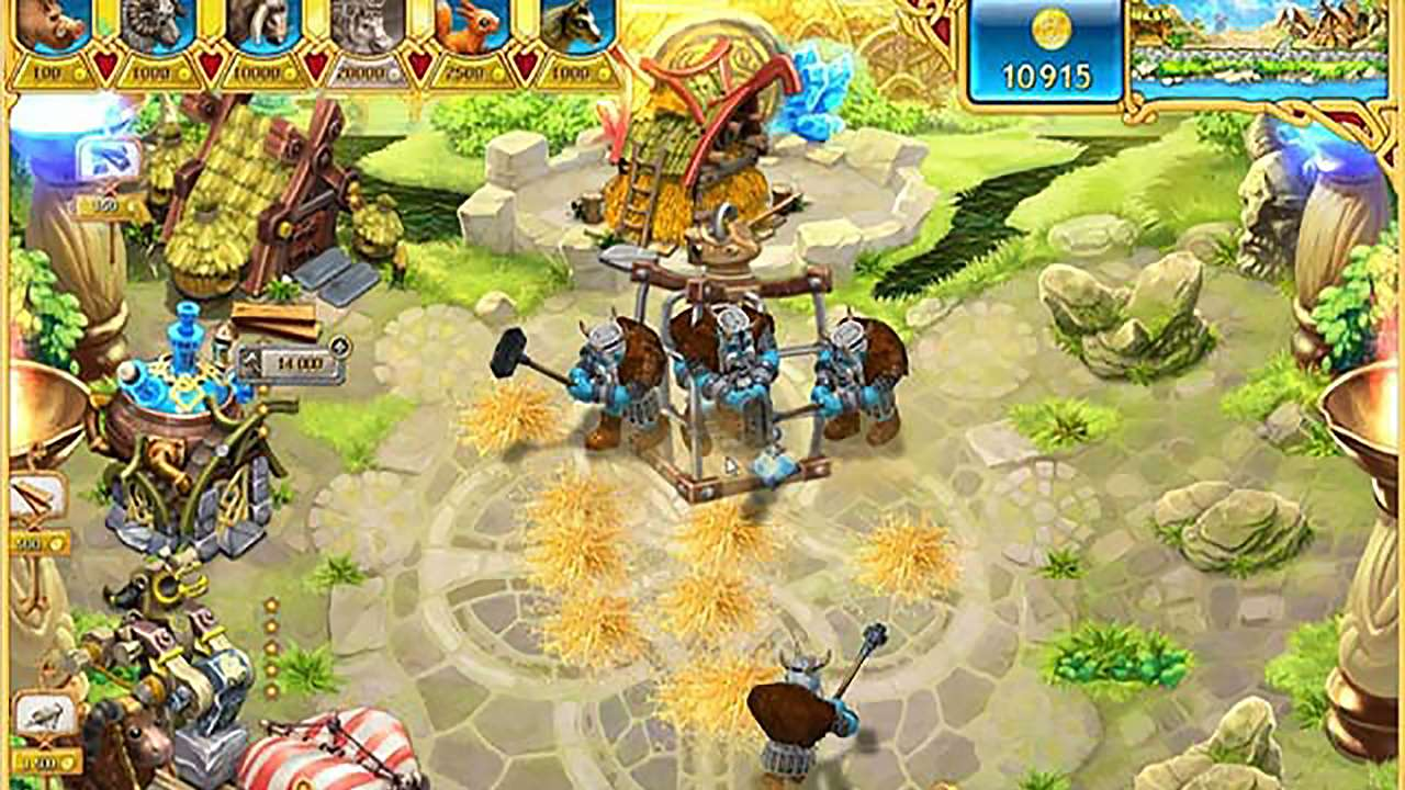 Screenshot from Farm Frenzy: Viking Heroes (4/9)