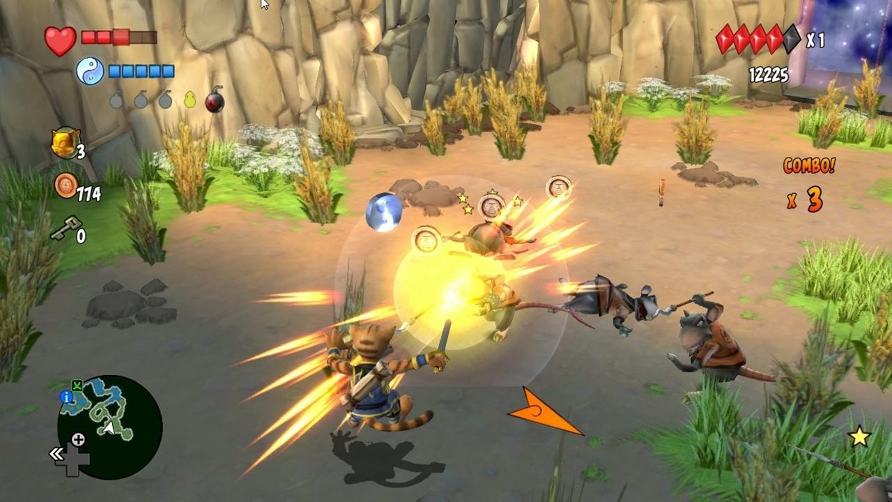 Screenshot from Legend of Kay Anniversary (3/5)