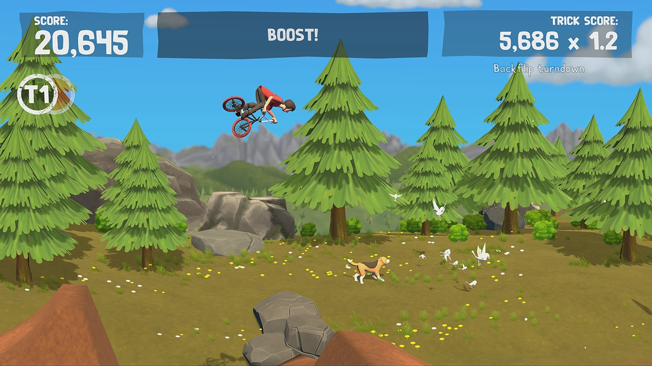 Screenshot from Pumped BMX Pro (1/5)