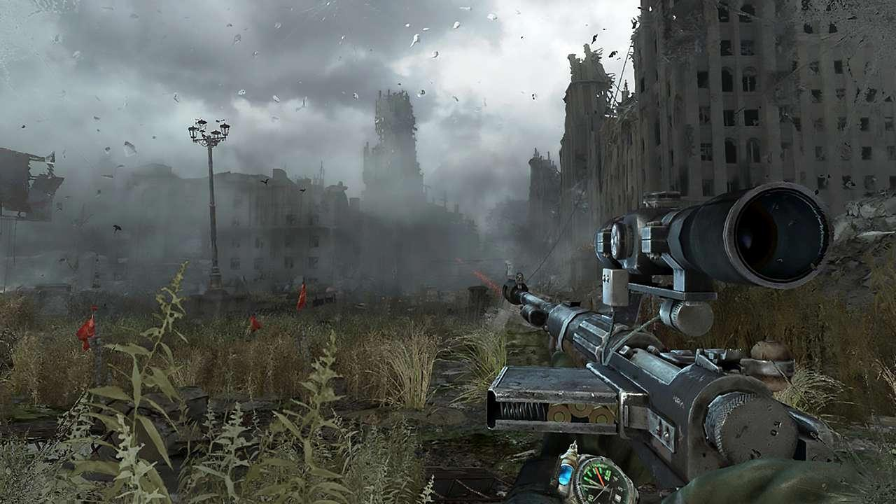 Screenshot from Metro Last Light Redux (6/8)