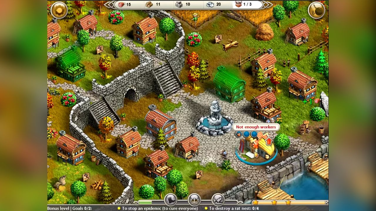 Screenshot from Viking Saga 2: New World (5/5)