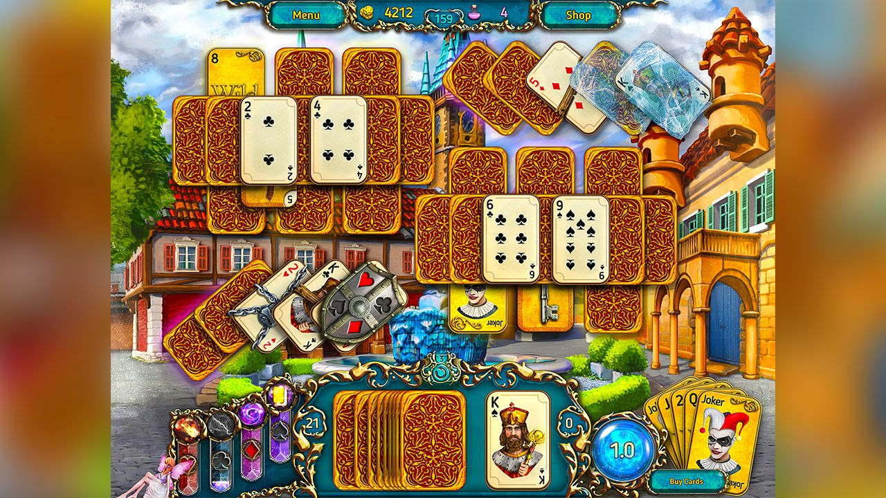 Screenshot from Dreamland Solitaire (5/8)