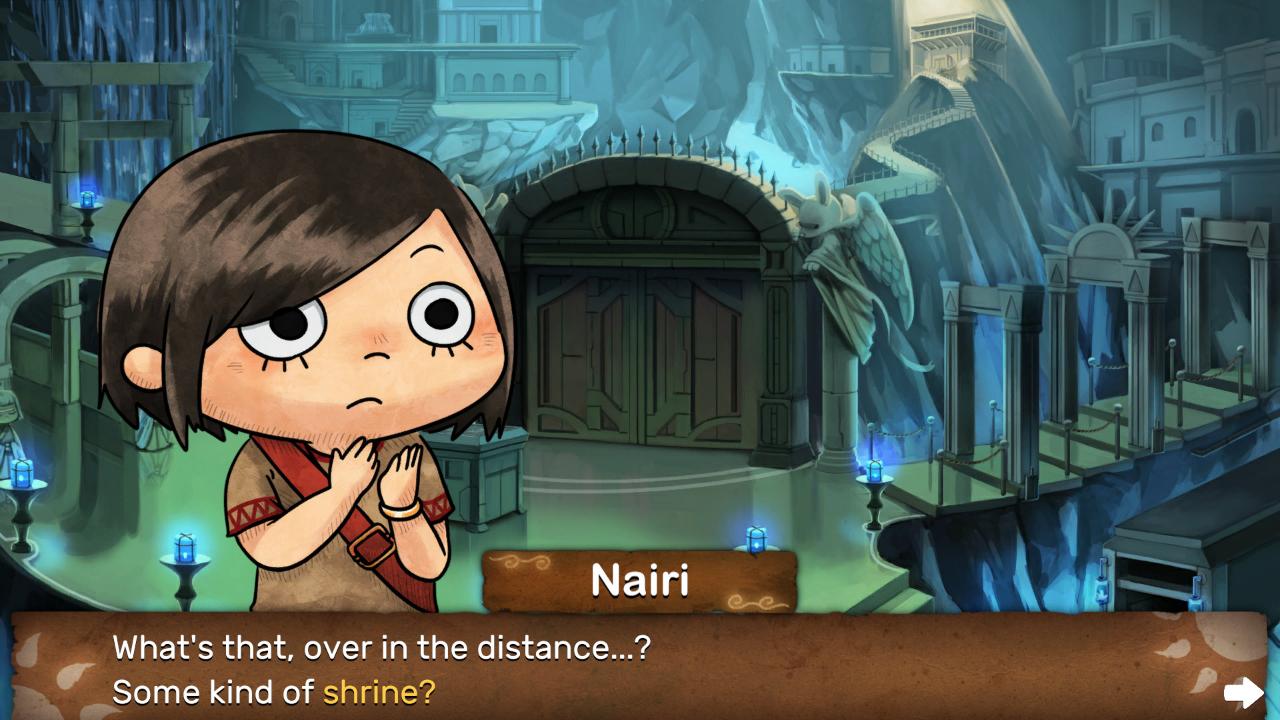 Screenshot from NAIRI: Tower of Shirin (1/5)
