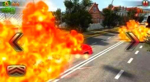 Screenshot from Crash and Burn Racing (2/3)