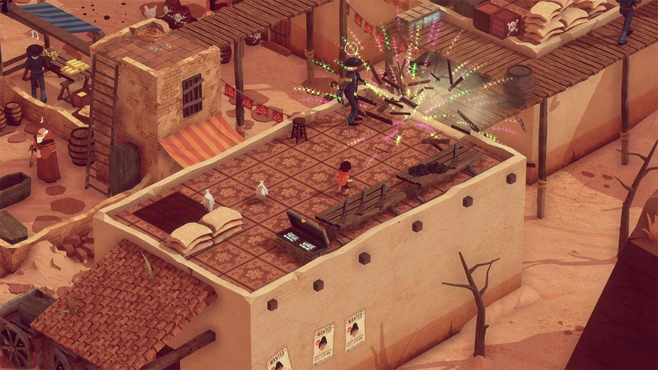 Screenshot from El Hijo - A Wild West Tale (3/5)