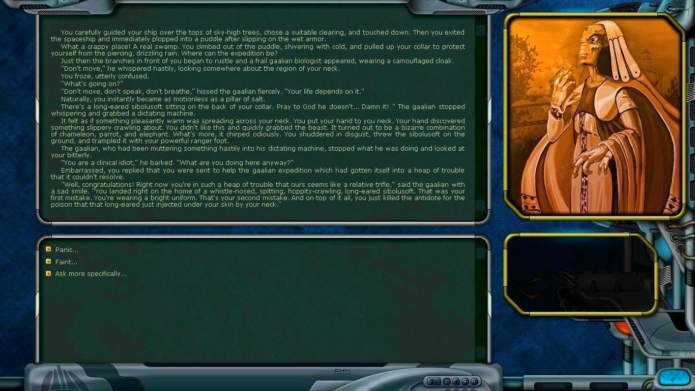 Screenshot from Space Rangers HD: A War Apart (3/6)