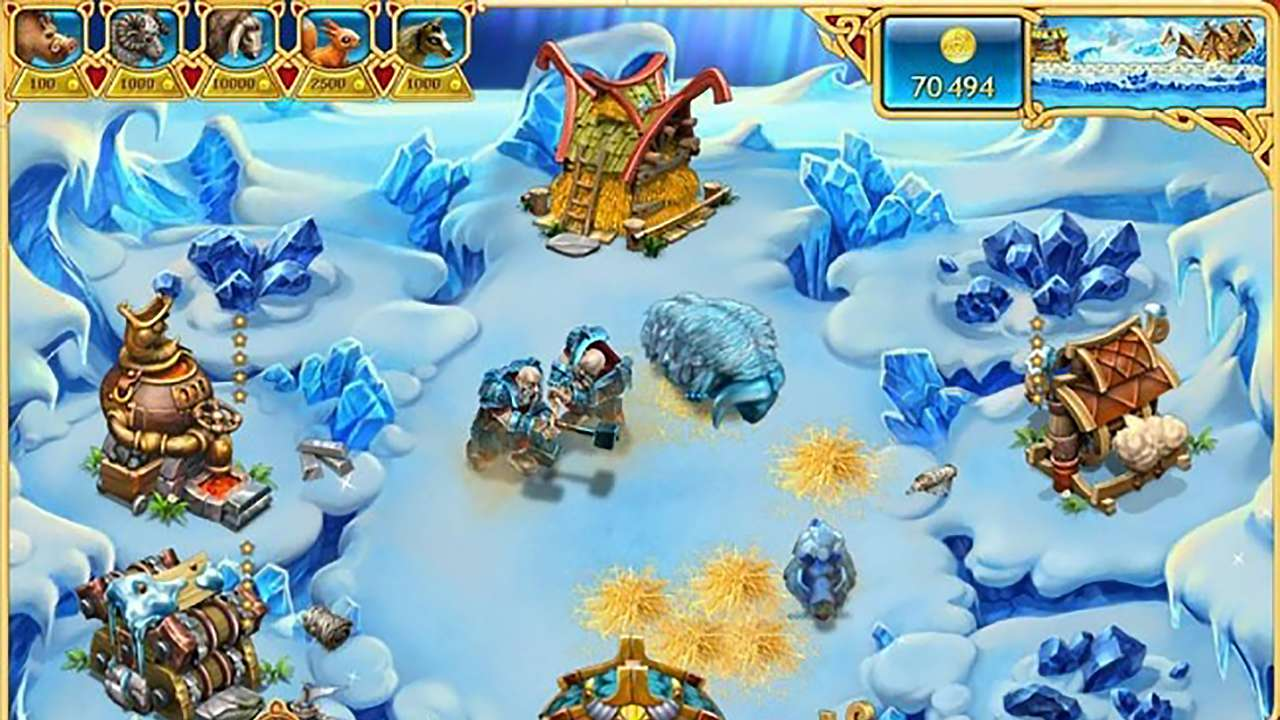 Screenshot from Farm Frenzy: Viking Heroes (6/9)