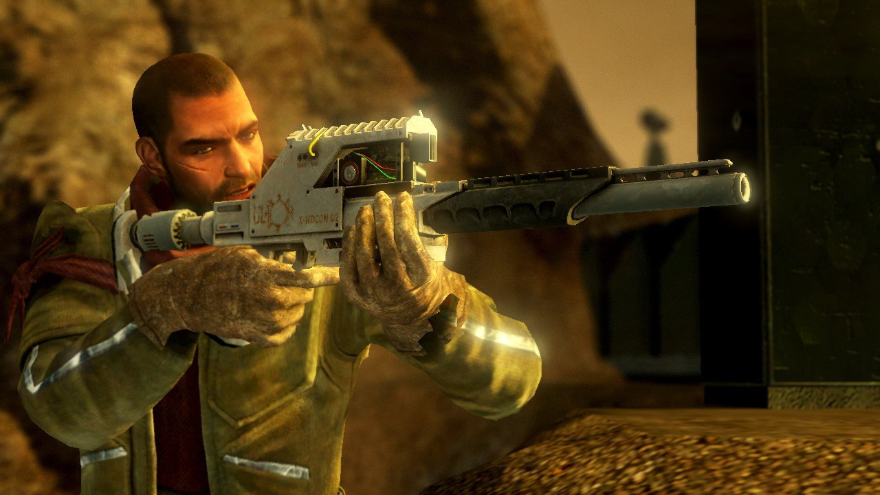 Screenshot from Red Faction Guerrilla Re-MARS-tered (6/6)