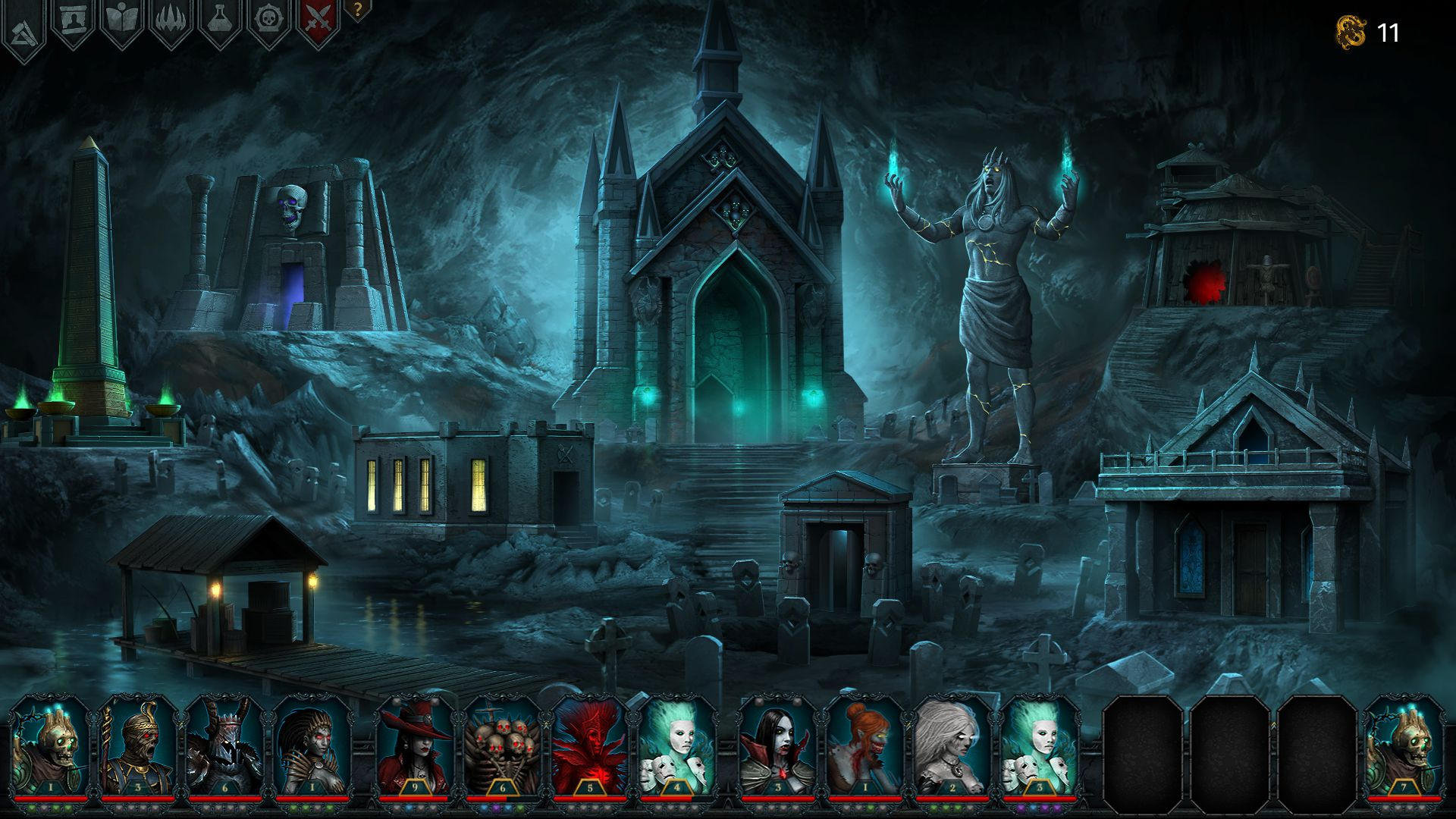 Screenshot from Iratus: Lord of the Dead (2/8)