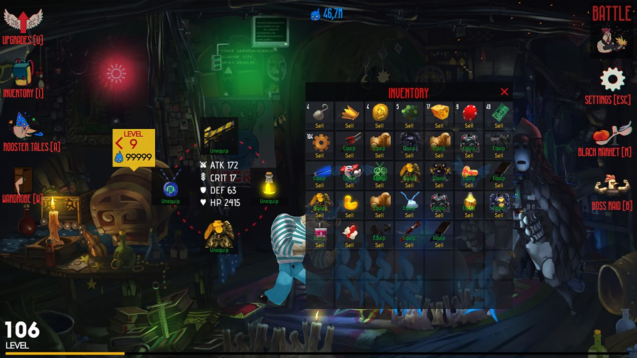 Screenshot from Chicken Assassin: Reloaded (4/10)