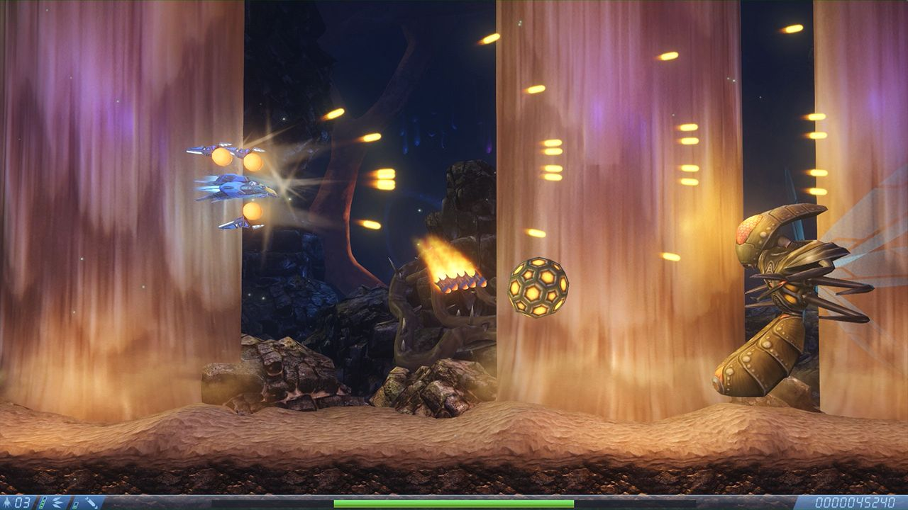 Screenshot from Rigid Force Alpha (4/7)