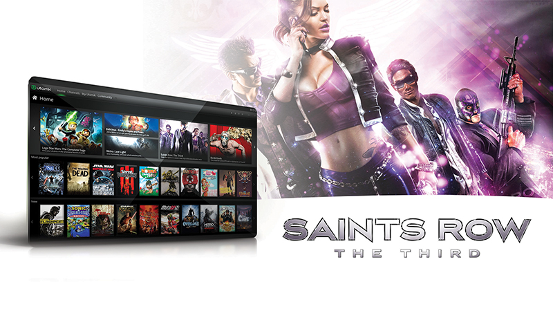 Saints Row, Dead Island Riptide and more added to Utomik.  500+ games in unlimited play subscription