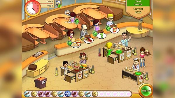 Screenshot from Amelie's Café (2/5)