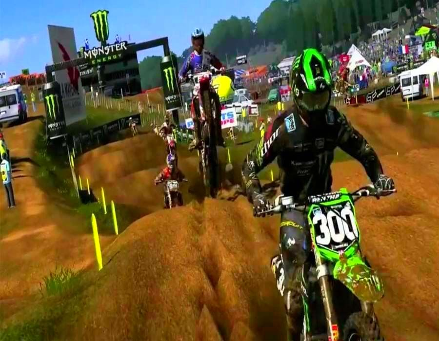 Screenshot from MXGP - The Official Motocross Videogame (4/5)