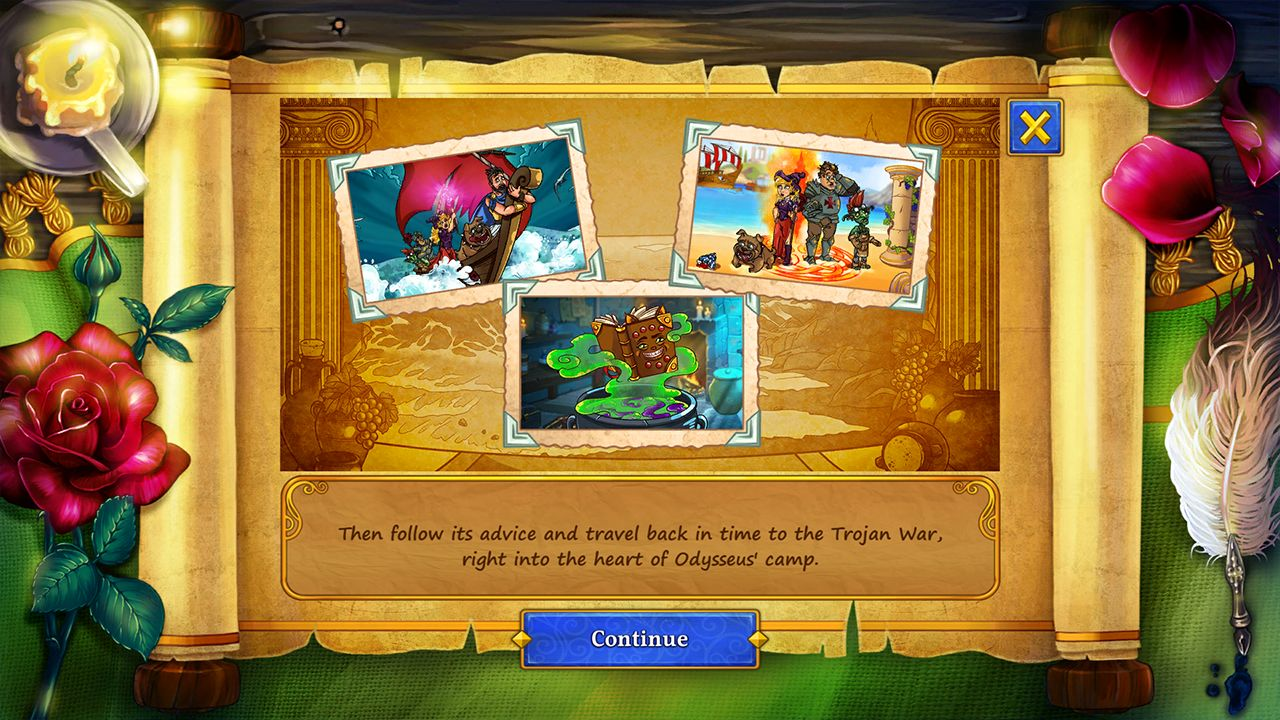 Screenshot from New Yankee 9: The Evil Spellbook Collector's Edition (8/10)