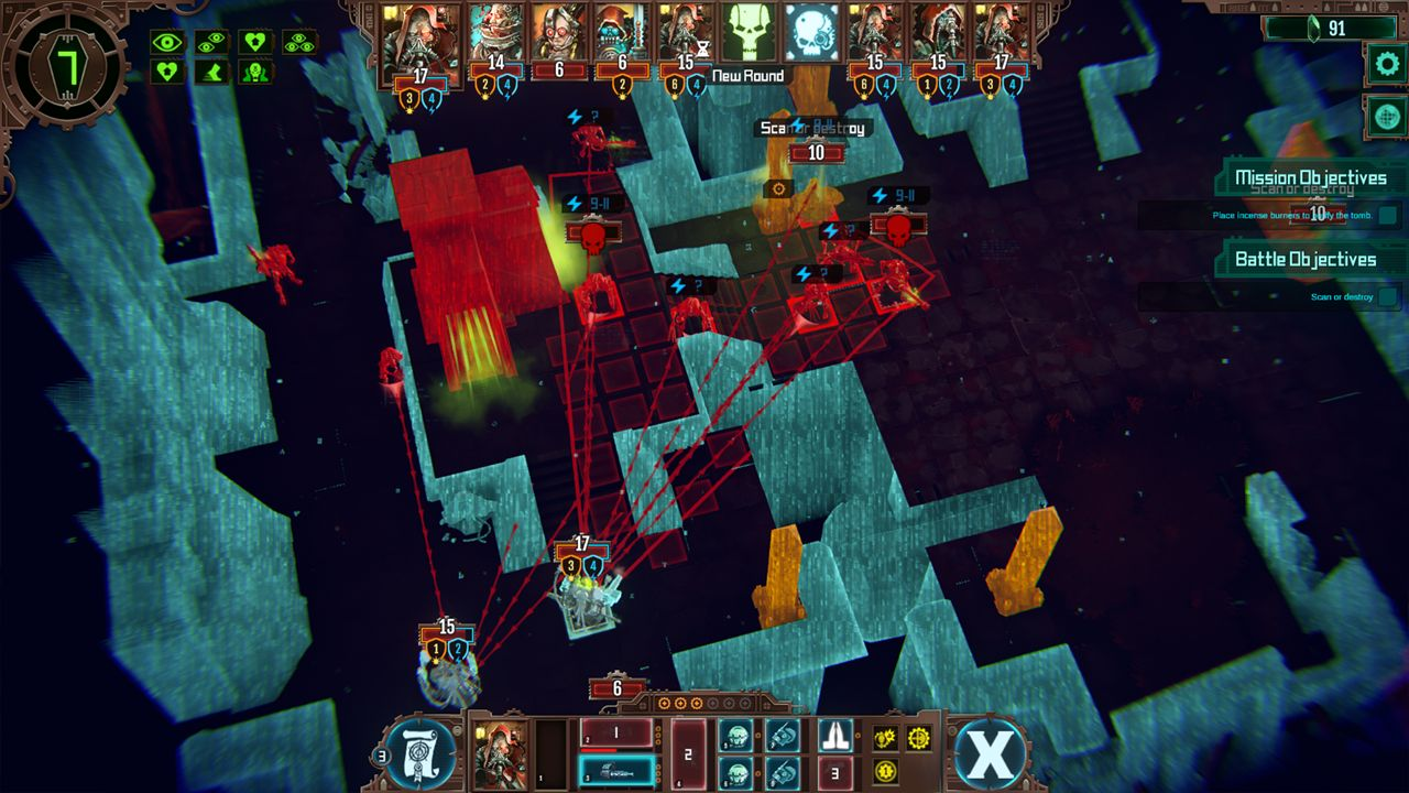 Screenshot from Warhammer 40,000: Mechanicus (6/9)
