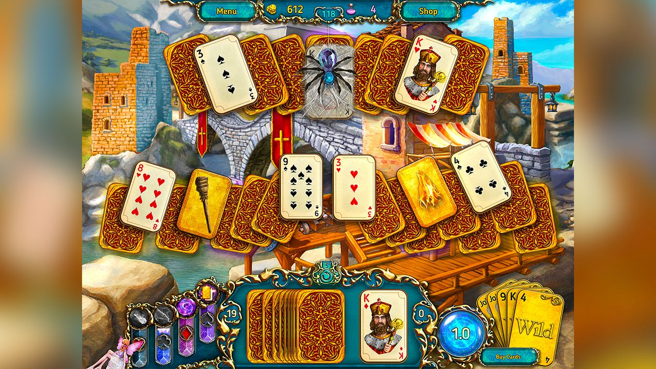 Screenshot from Dreamland Solitaire (6/8)
