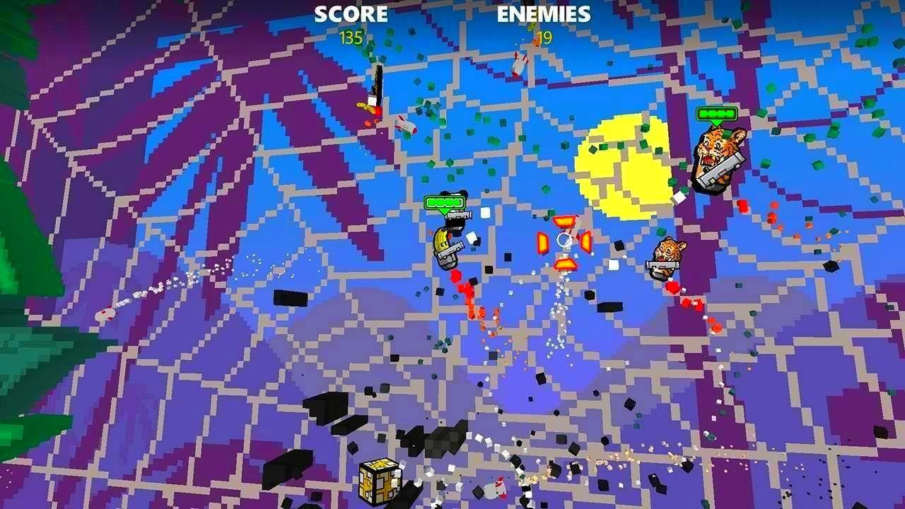 Screenshot from Rocket Riot (4/8)