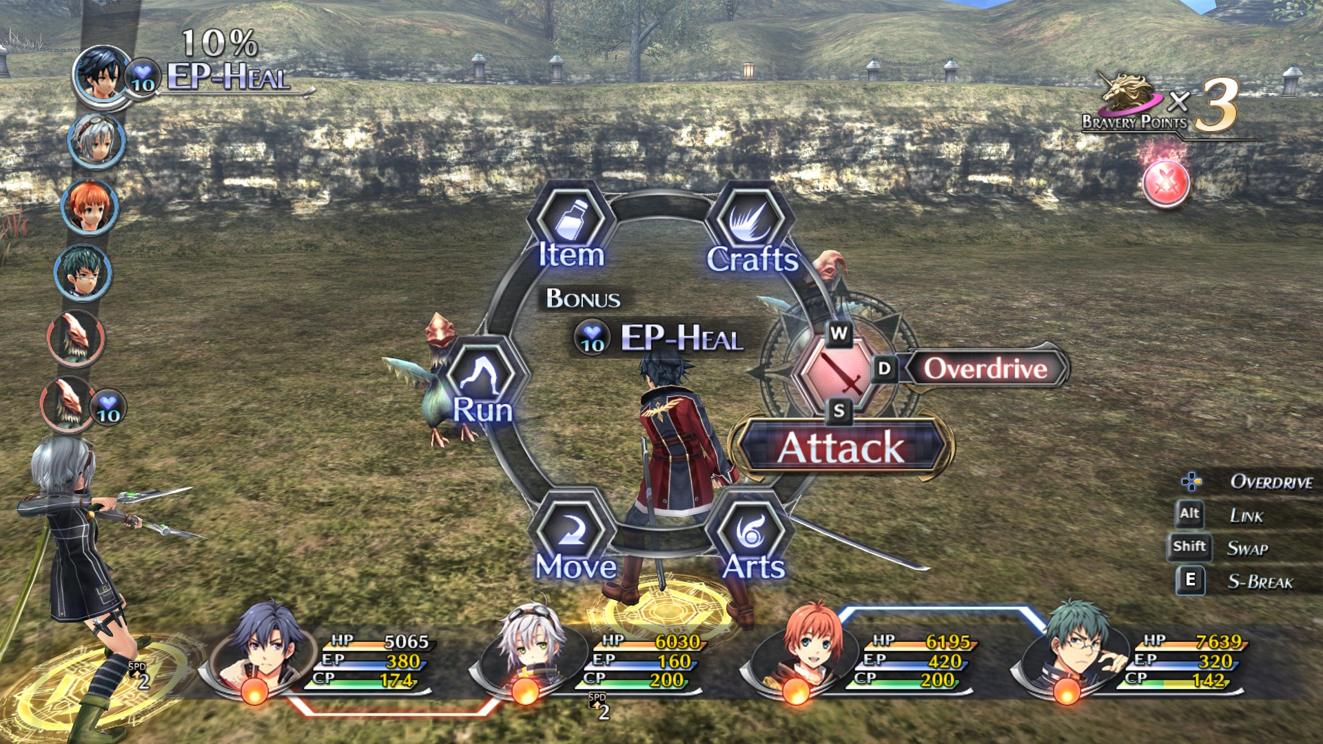 Screenshot from The Legend of Heroes: Trails of Cold Steel II (1/6)