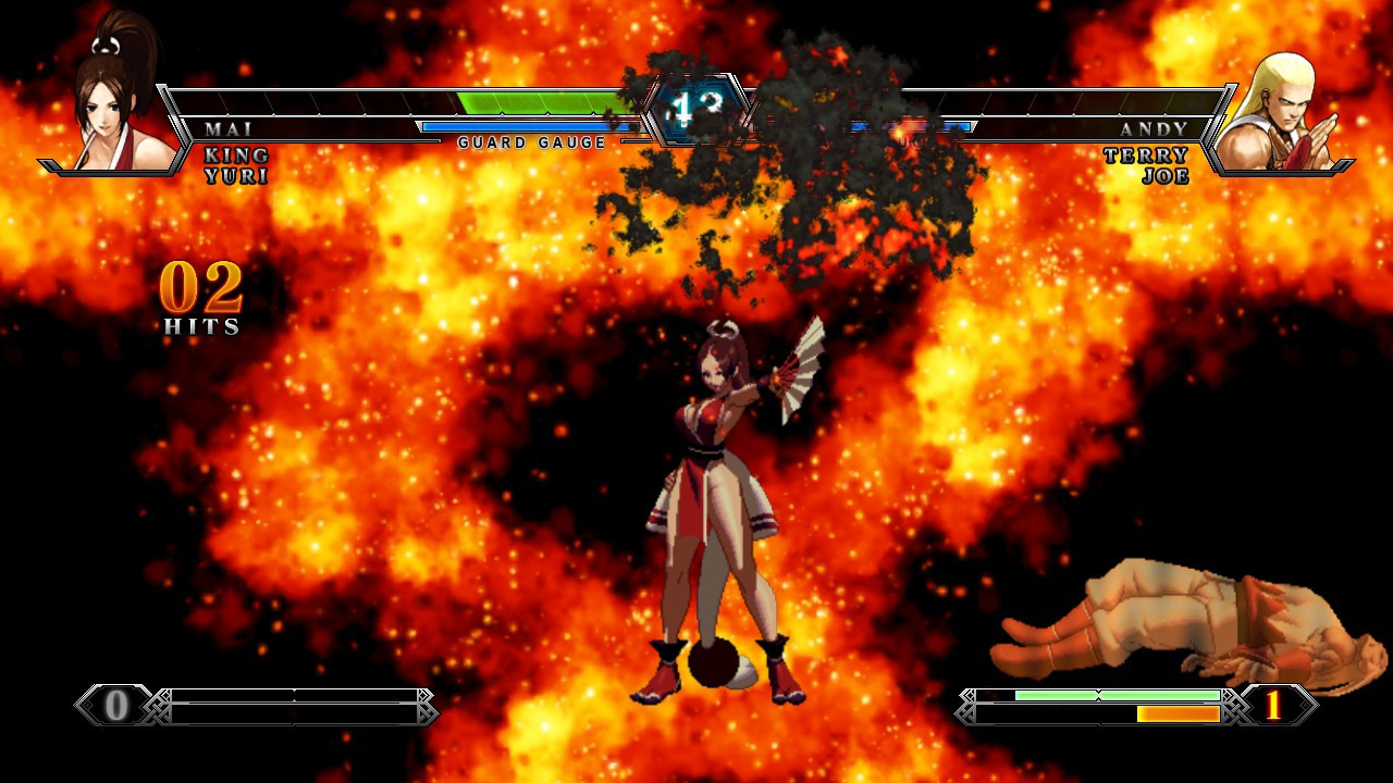 Screenshot from The King of Fighters XIII (8/10)