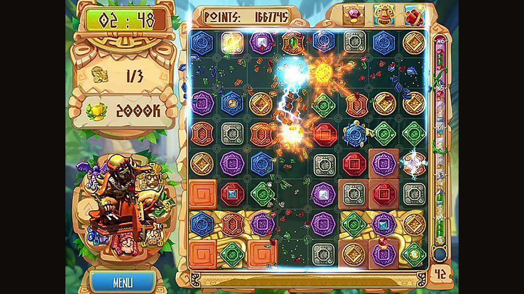 Screenshot from The Treasures of Montezuma 5 (3/7)
