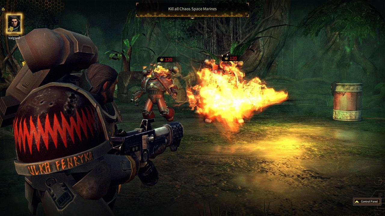 Screenshot from Warhammer 40,000: Space Wolf (5/5)