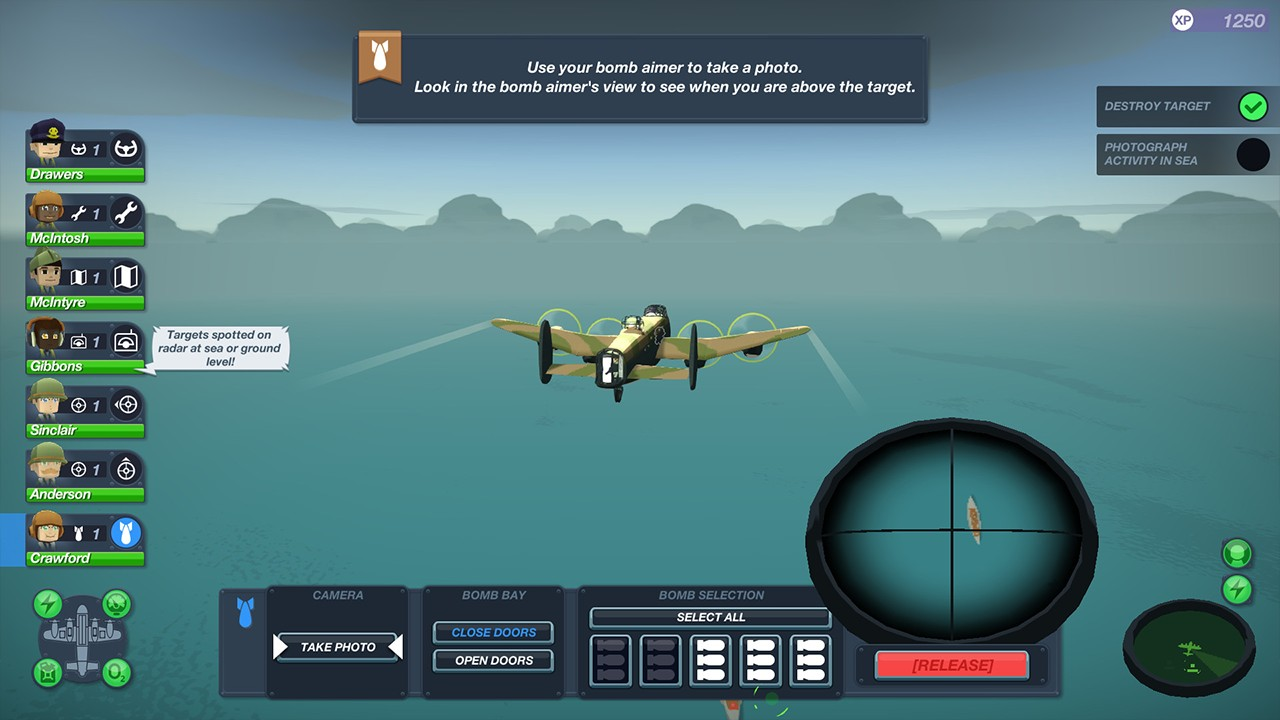 Screenshot from Bomber Crew (4/4)