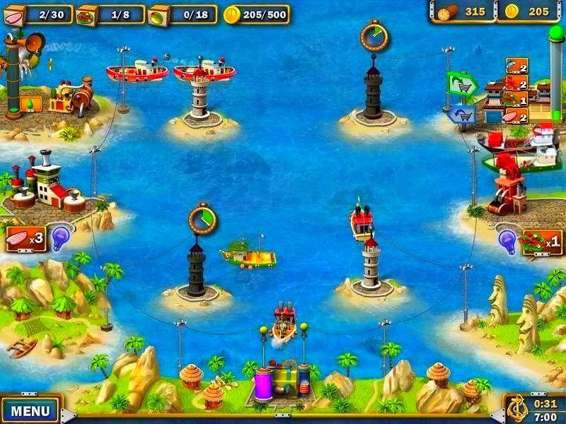 Screenshot from Youda Fisherman (4/4)