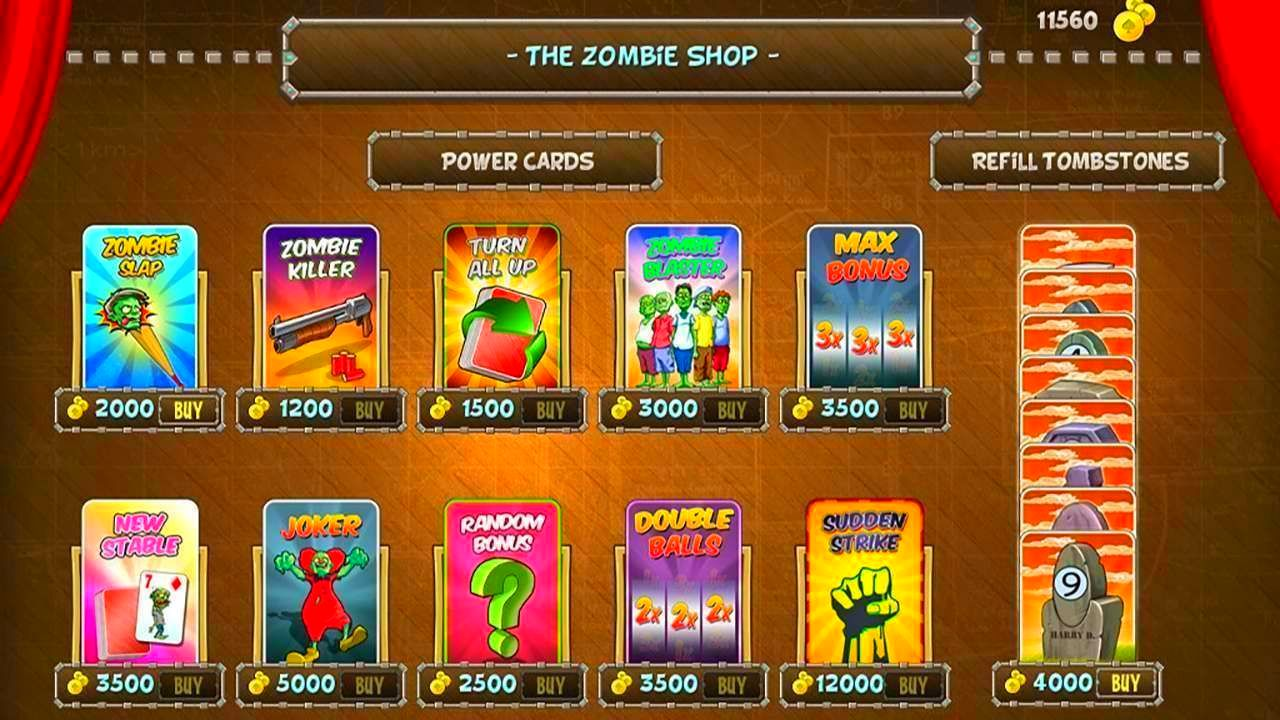 Screenshot from Zombie Solitaire (6/9)
