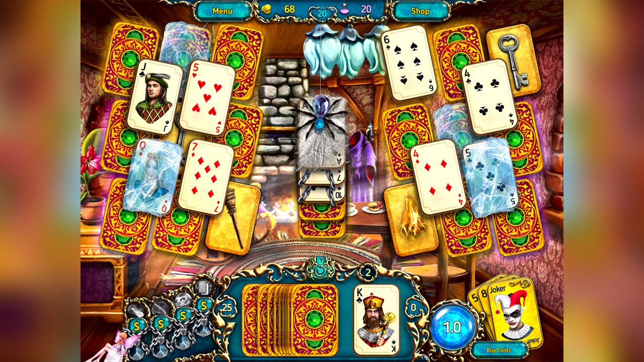 Screenshot from Dreamland Solitaire: Dragon's Fury (4/8)
