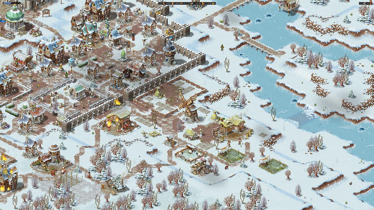 Screenshot from Townsmen - A Kingdom Rebuilt (4/5)