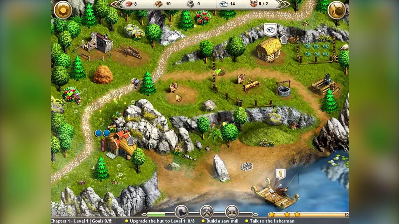 Screenshot from Viking Saga: The Cursed Ring (3/6)