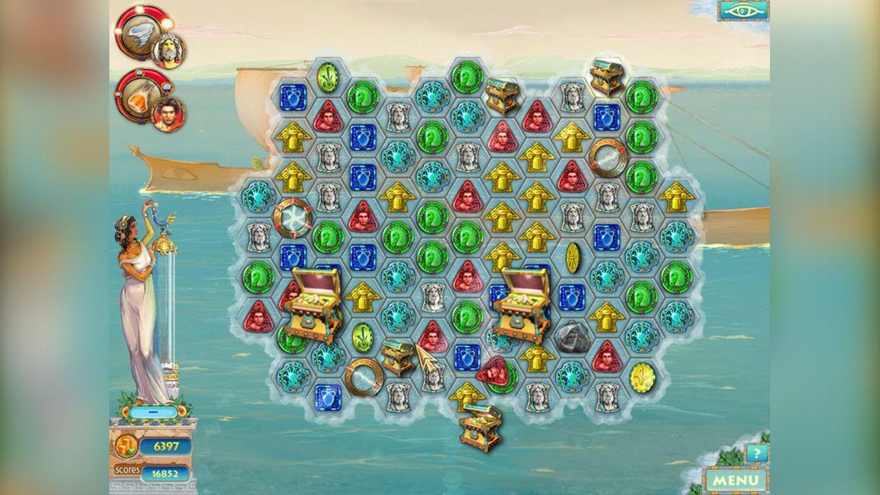 Screenshot from Heroes of Hellas 2: Olympia (1/8)