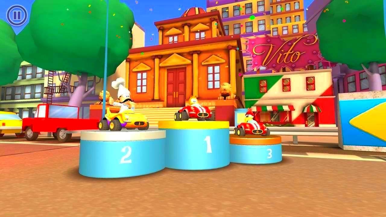 Screenshot from Garfield Kart (1/10)