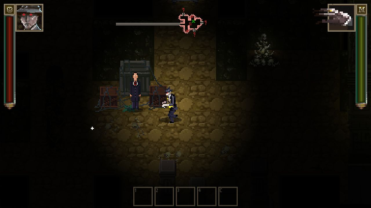 Screenshot from Lovecraft's Untold Stories (2/10)