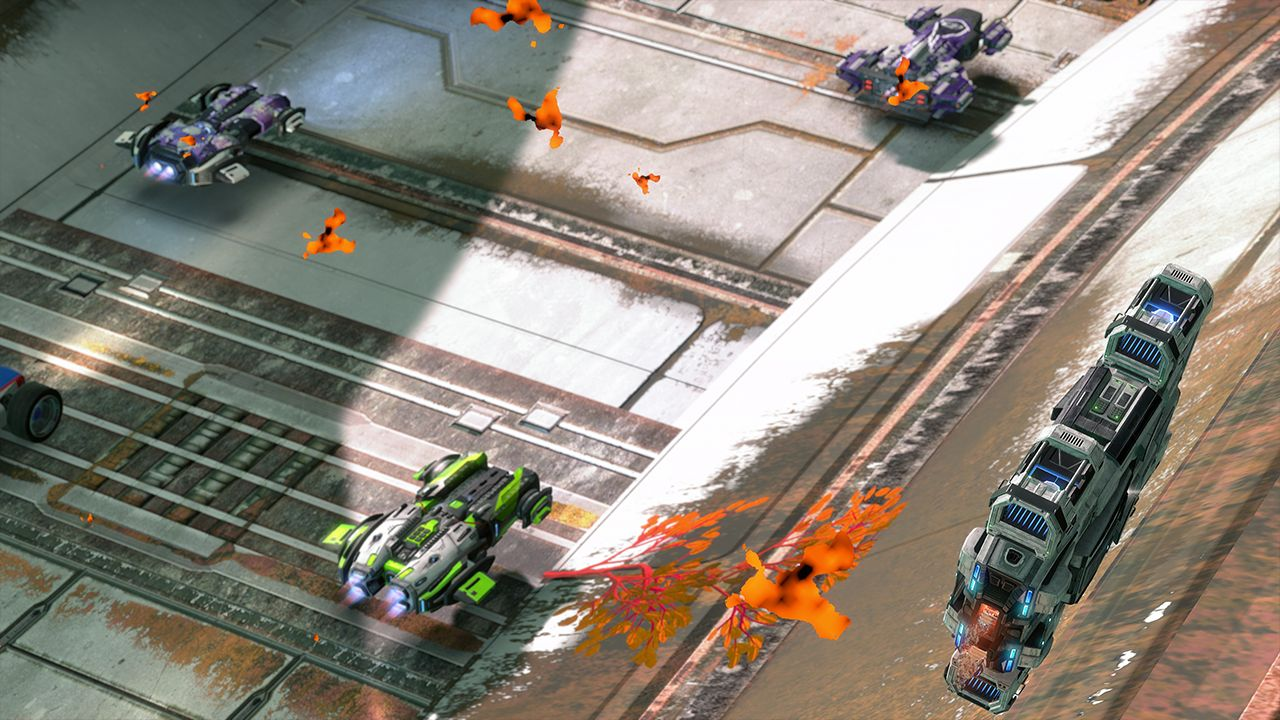 Screenshot from GRIP: Combat Racing (8/10)
