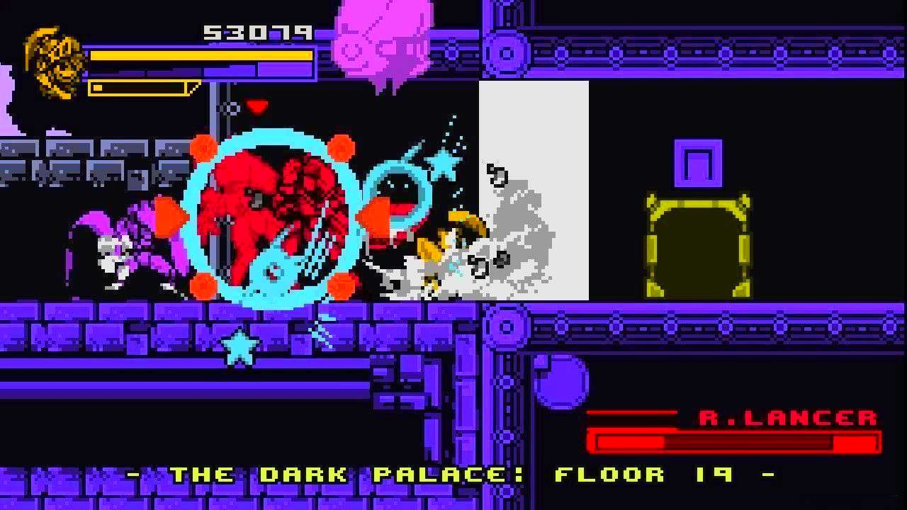 Screenshot from The Joylancer: Legendary Motor Knight (6/7)