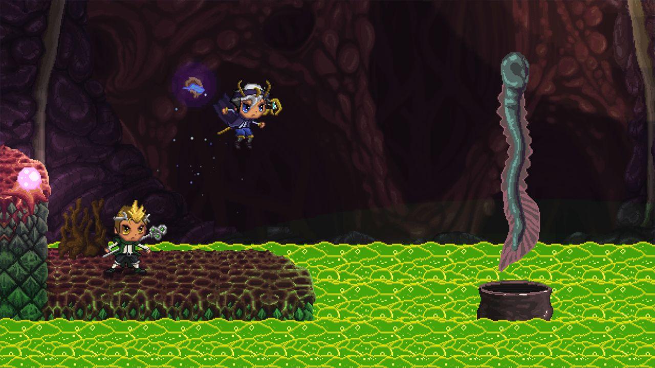 Screenshot from REZ PLZ (7/10)