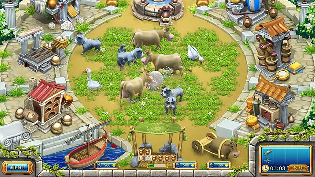 Screenshot from Farm Frenzy: Ancient Rome (2/7)