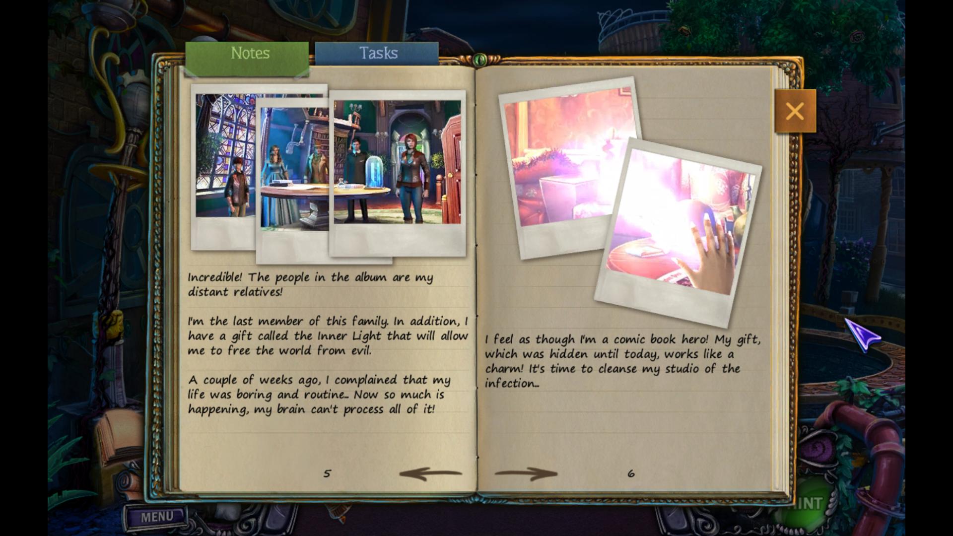 Screenshot from House of 1000 Doors: Evil Inside (8/9)
