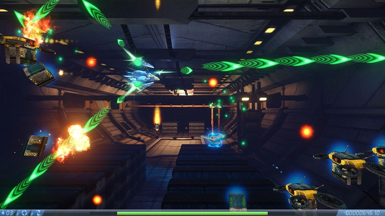 Screenshot from Rigid Force Alpha (3/7)