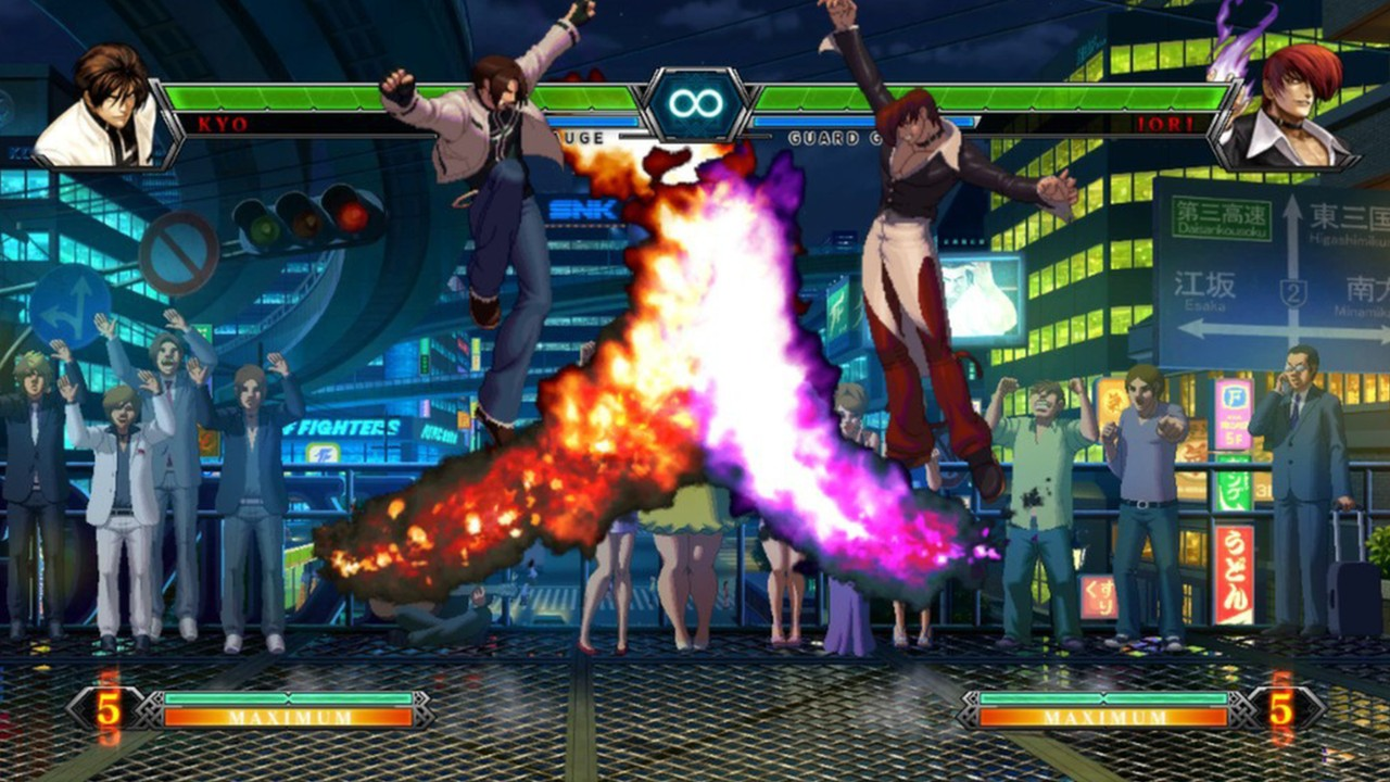 Screenshot from The King of Fighters XIII (9/10)